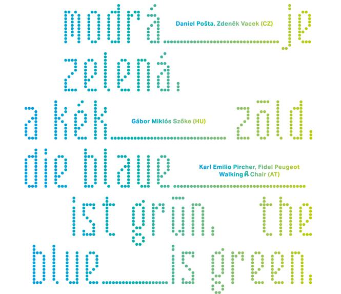 A kék...zöld