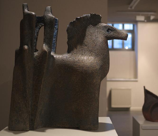 Csekovszky Árpád keramikusművész életmű kiállítása 2010